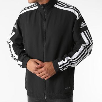 Adidas Performance - Veste Zippée A Bandes GK9549 Noir