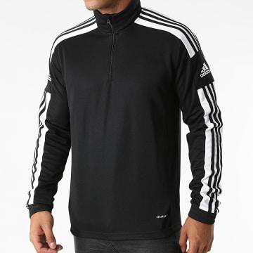 Adidas Performance - Polo Manches Longues A Bandes Squad 21 GK9562 Noir