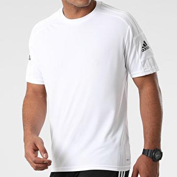 Adidas Performance - Tee Shirt Squad 21 GN5726 Blanc