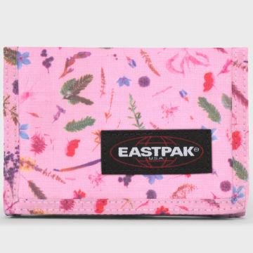 Eastpak - Portefeuille Crew Single Herbs Rose