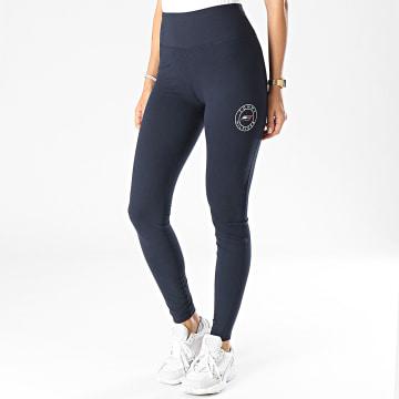 Tommy Sport - Legging Femme Round Graphic 1092 Bleu Marine