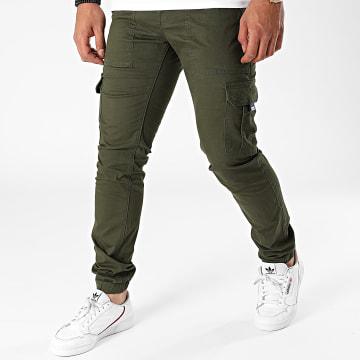 Tommy Jeans - Jogger Pant Slim Scanton 9660 Vert Kaki