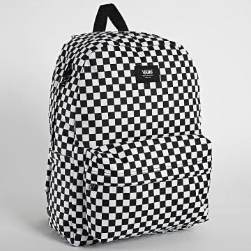 Vans - Sac A Dos Old Skool Checkered Noir Blanc