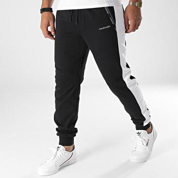 Calvin Klein - Pantalon Jogging A Bandes Logo Stripe 7251 Noir