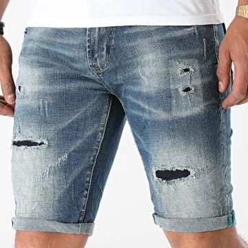 KZR - Short Jean TH37735 Bleu Denim