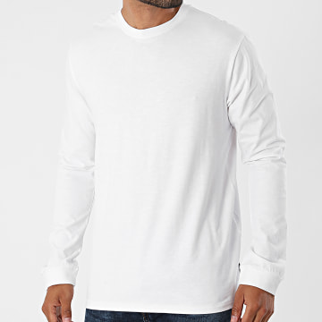 Only And Sons - Tee Shirt Manches Longues Millenium Life Blanc