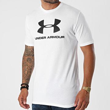 Under Armour - Tee Shirt De Sport 1329590 Blanc
