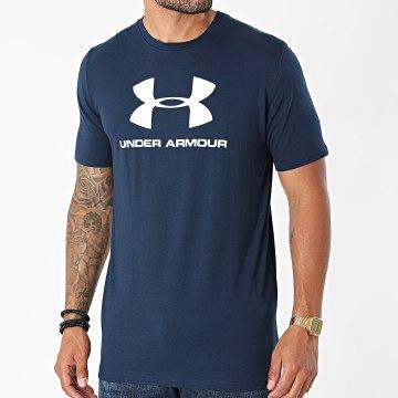 Under Armour - Tee Shirt De Sport 1329590 Bleu Marine