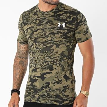 Under Armour - Tee Shirt Camouflage 1357727 Vert Kaki