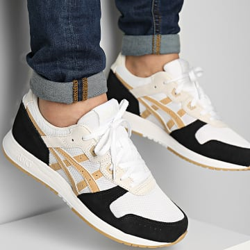 Asics - Baskets Lyte Classic 1202A112 White Camel Beige