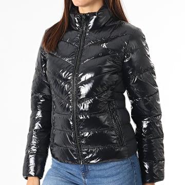 Calvin Klein - Doudoune Femme Glossy Padded 6261 Noir