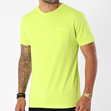 MTX - Tee Shirt Poche TM0671 Vert Fluo