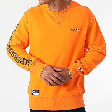 Superdry - Sweat Crewneck Corporate Logo Brights M2011571A Orange