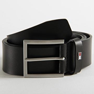 Tommy Hilfiger - Ceinture Hampton Leather 5631 Noir