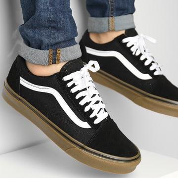 Vans - Baskets Old Skool 1R1GI6 Black Medium Gum