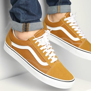 Vans - Baskets Old Skool 3WKT9GE Golden Brown True White