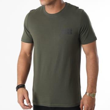 Jack And Jones - Tee Shirt Corp Logo Vert Kaki