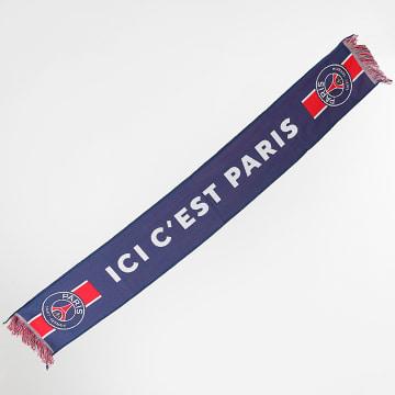 PSG - Echarpe Ici C'est Paris Bleu Marine