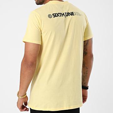 Sixth June - Tee Shirt M22173VTS Jaune