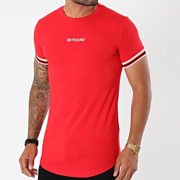Sixth June - Tee Shirt Oversize M22289VTS Rouge