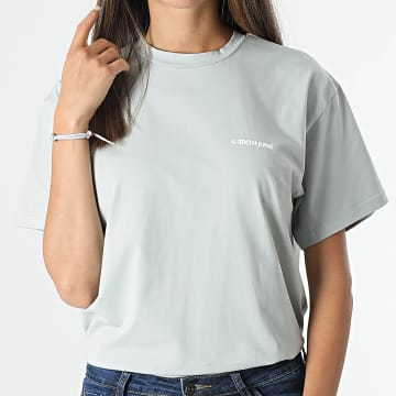 Sixth June - Tee Shirt W32948VTS Vert Clair