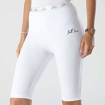 Sixth June - Short Cycliste Femme W3905KST Blanc