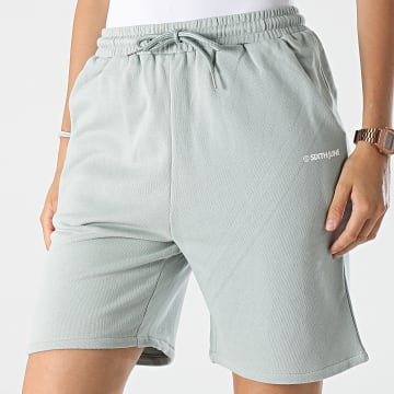 Sixth June - Short Jogging Femme W33052KST Vert Clair