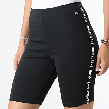 Tommy Jeans - Short Cycliste Femme 0332 Noir