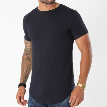 Uniplay - Tee Shirt Oversize UY667 Bleu Marine