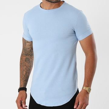 Uniplay - Tee Shirt Oversize UY667 Bleu