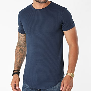 Uniplay - Tee Shirt Oversize UY665 Bleu Marine