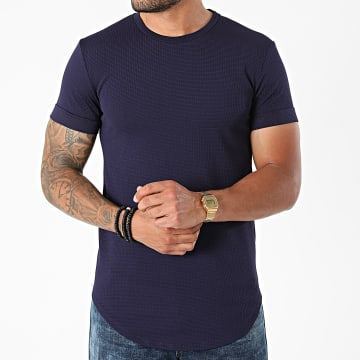Uniplay - Tee Shirt Oversize UY666 Bleu Marine
