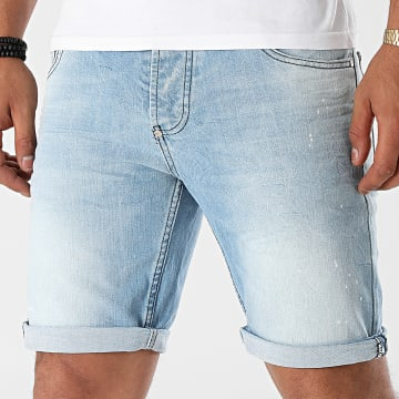 Uniplay - Short Jean Slim 553 Bleu Denim