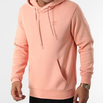 Adidas Originals - Sweat Capuche A Bandes H09145 Rose