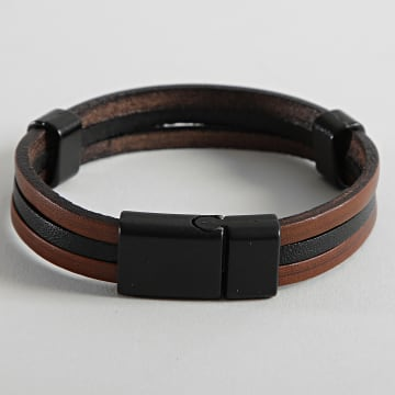 Black Needle - Bracelet BBN-496 Marron Noir