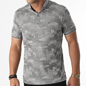 Classic Series - Polo Manches Courtes 1089 Gris
