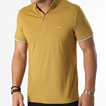 Classic Series - Polo Manches Courtes 1101 Jaune Moutarde