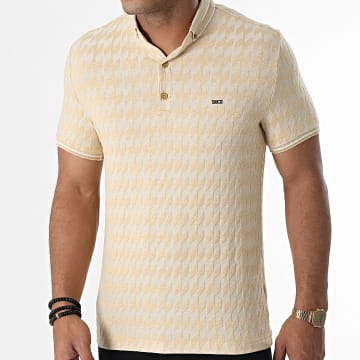 Classic Series - Polo Manches Courtes 1080 Beige Chiné