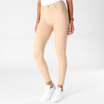 Girls Outfit - Jean Skinny Femme G2160 Beige