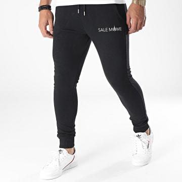 Sale Môme Paris - Pantalon Jogging Logo Noir Blanc