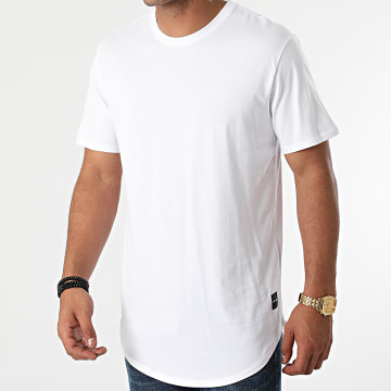 Only And Sons - Tee Shirt Oversize Matt Life Blanc