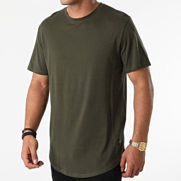 Only And Sons - Tee Shirt Oversize Matt Life Vert Kaki