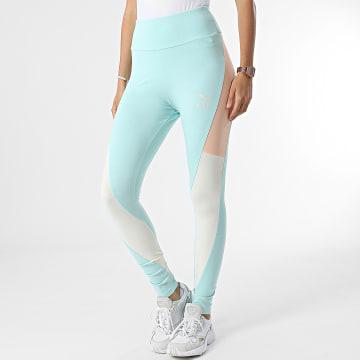 Puma - Legging Femme CLSX 531699 Bleu Clair