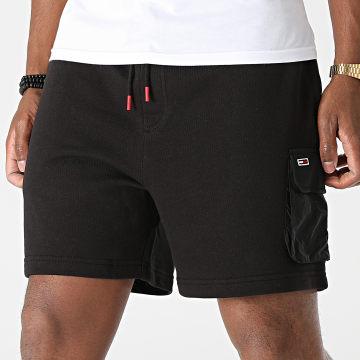 Tommy Jeans - Short Jogging Fabric Mix 0960 Noir