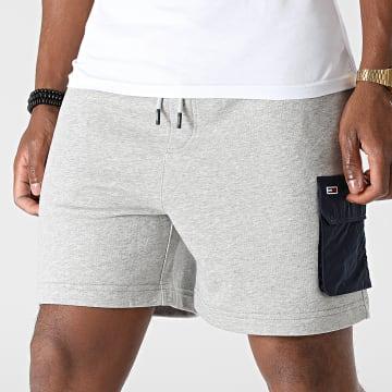 Tommy Jeans - Short Jogging Fabric Mix 0960 Gris Chiné