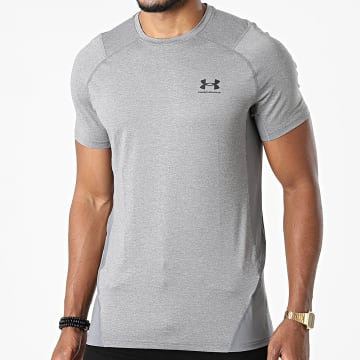 Under Armour - Tee Shirt Compression 1361683 Gris Chiné