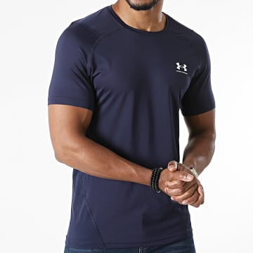 Under Armour - Tee Shirt Compression 1361683 Bleu Marine