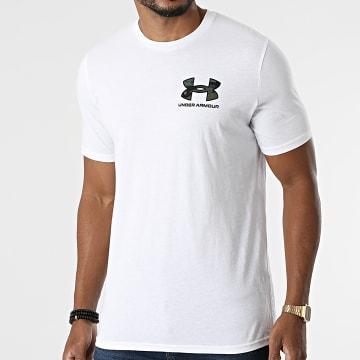 Under Armour - Tee Shirt UA ABC 1366456 Blanc