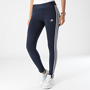 Adidas Performance - Legging Femme A Bandes H07771 Bleu Marine