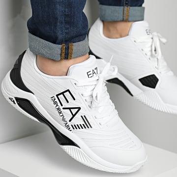 EA7 Emporio Armani - Baskets X8X079-XK203 White Black